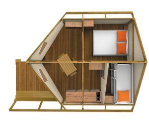 Ecolodge-Zelte