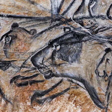 La Grotte Chauvet 2 les-lions-®Patrick-Aventurier