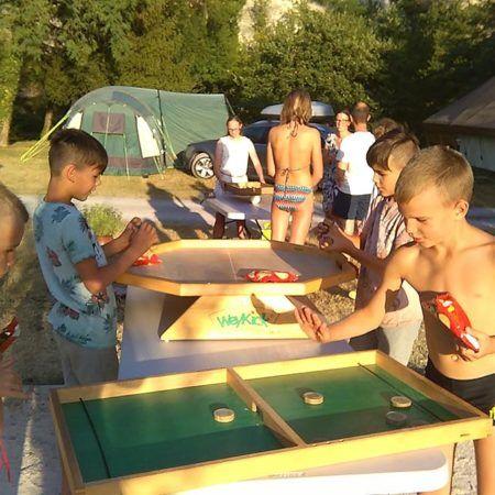 Riesen-Holzspiele