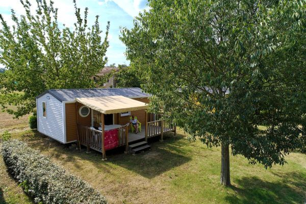 Camping La Turelure | Location mobil homes en Ardèche