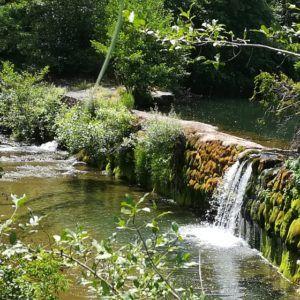 Wasserfall auf La Ligne