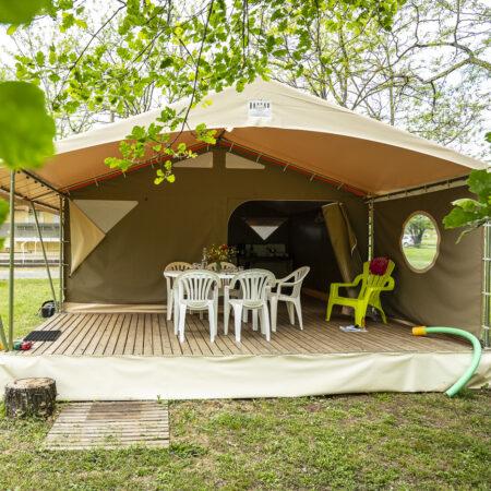 Ecolodge / Canada-tenten
