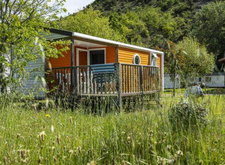 Mobil-home Loggia | location mobil home en Ardèche |2 chambres | 4 personnes