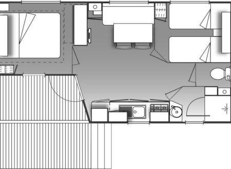 Mobil-home Loggia