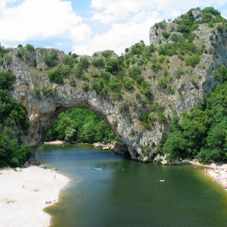 Der Pont d'Arc
