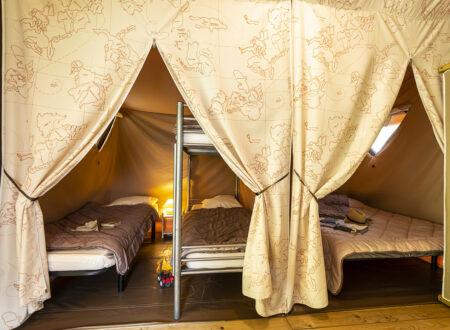 Tente Canada | Hébergement insolite Ardèche